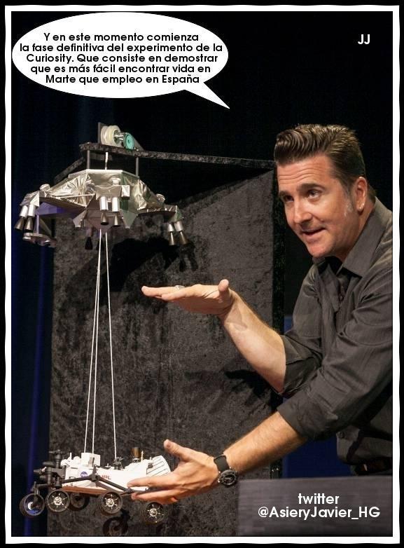 La misión científica de la Curiosity en Marte