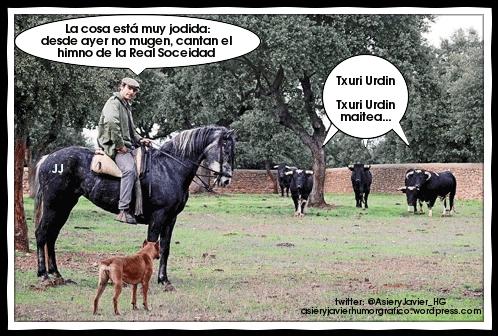 La suspensión de las corridas de toros en Donostia provoca extrañas consecuencias en las dehesas