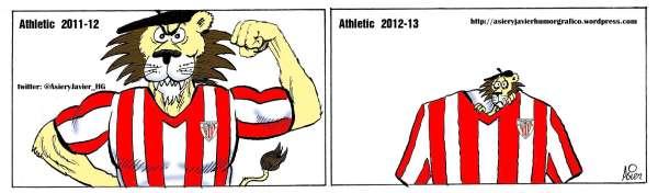 El Athletic de esta temporada se parece al de la pasada, pero poco