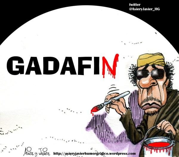 Un año sin Gaddafi