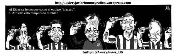 Adios del Athletic a la Copa: los armeros la arman en San Mamés