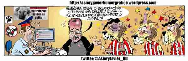 Bielsa denuncia al Barça por maltratar leones