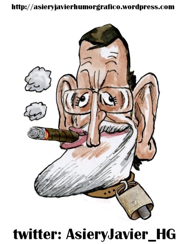 Mariano Rajoy, nuestro Cencerro de la Semana....y del Año