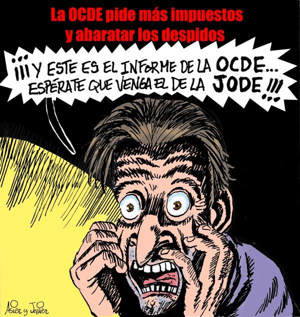 En EL Jueves: la OCDE pide putear más a trabajadores y pensionistas