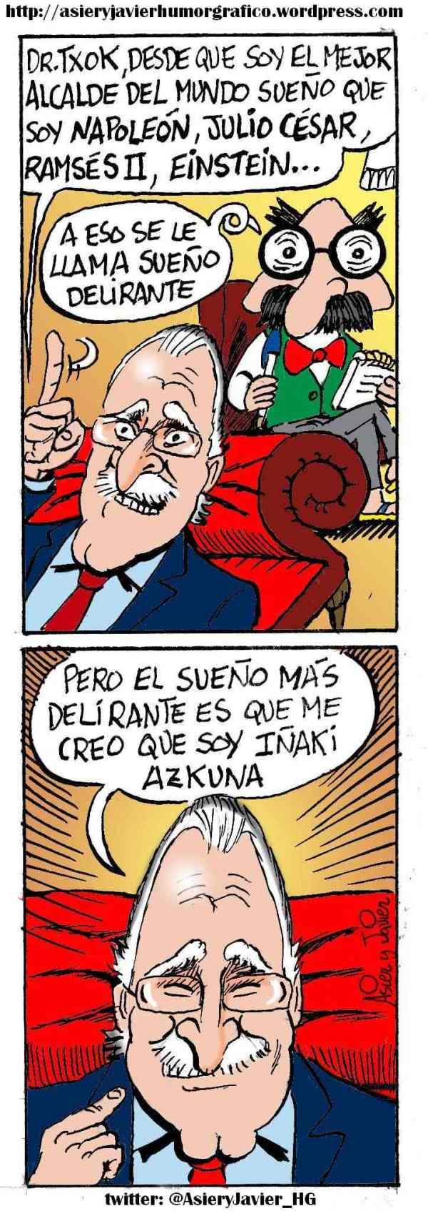 Iñaki Azkuna pasa por la consulta del Doctor Txok