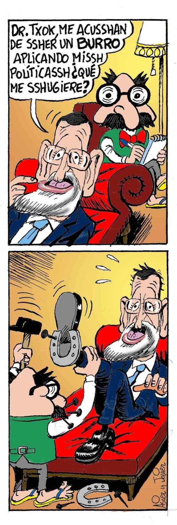 Rajoy PP Gobierno España Txok