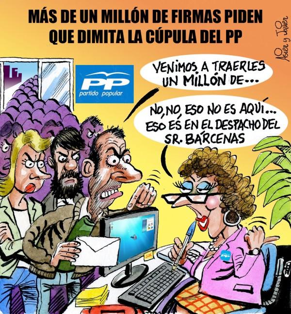 PP, El Jueves, Mato, Bárcenas, Rajoy