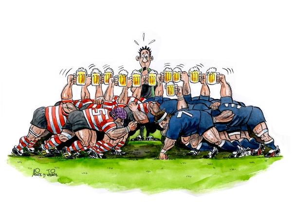 Rugby Melee, Tercer Tiempo, Cerveza UBR
