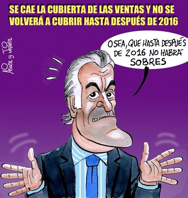 Bárcenas, preocupado por el hundimiento de la cubierta de Las Ventas