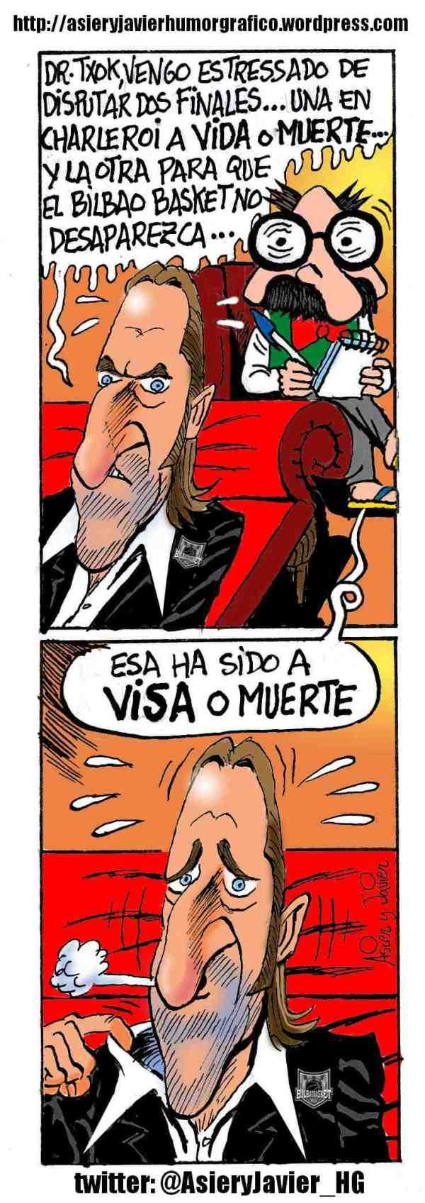 Gorka Arrinda y los problemas de gestión económica del Bizkaia Bilbao Basket, en el diván del doctor Txok