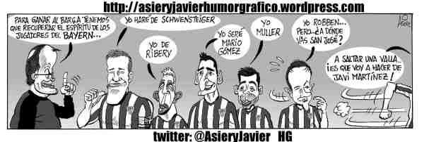 Bielsa quiere que el Athletic sea como el Bayern ante el Barça