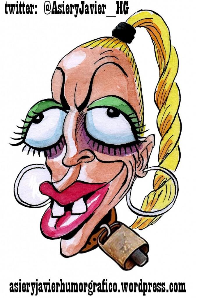 ... caricaturas ...quién soy ... - Página 2 Belen-esteban-caricatura-asieryjavier-677x1024