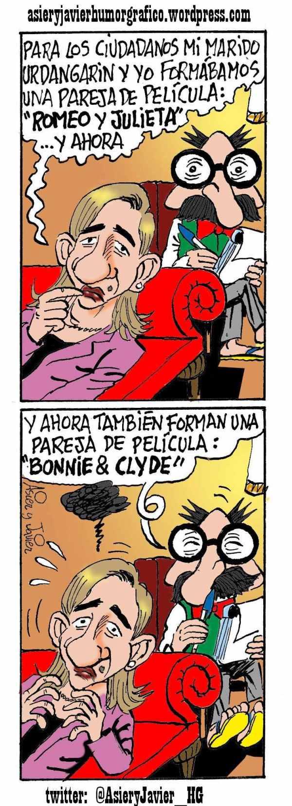 La infanta Cristina de Borbón acude al doctor Txok