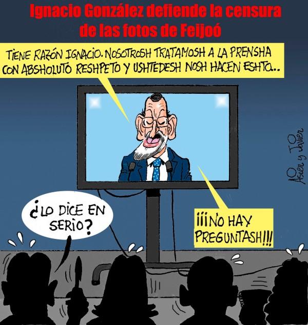 Rajoy, PP, Feijoo, Ignacio González, Fotos, Prensa, Contrabandista, Galicia, Plasma