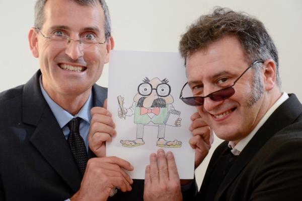Asier y Javier, Humor Gráfico