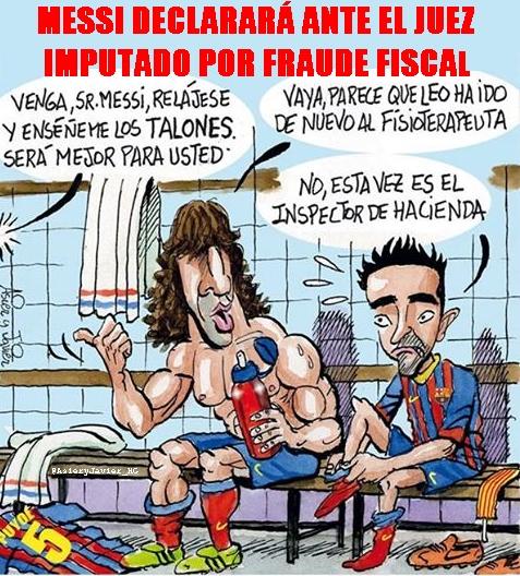 El futbolista del Barcelona, Leo Messi, tendrá que declarar ante el juez al ser imputado por fraude fiscal.