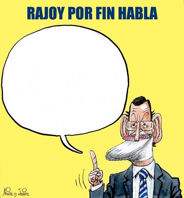Rajoy hablará sobre Bárcenas