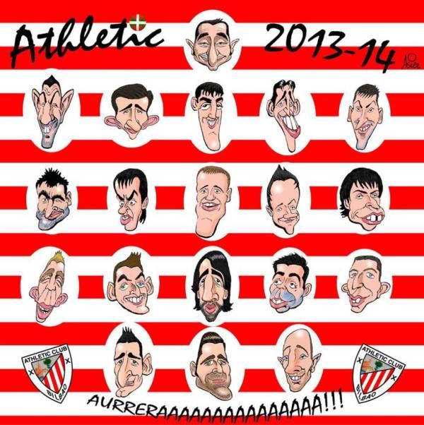 Nuestra plantilla del Athletic decorará la txozna de Irrintzi en la Aste Nagusia de Bilbao