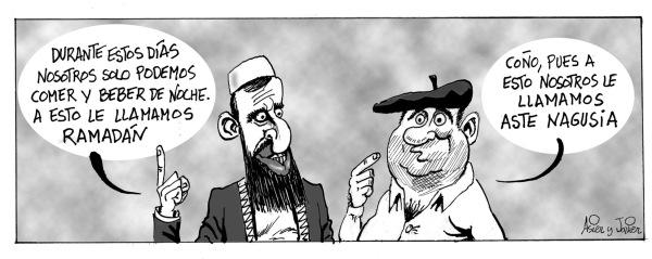 Uno de nuestros clásicos: el Ramadán y Aste Nagusia