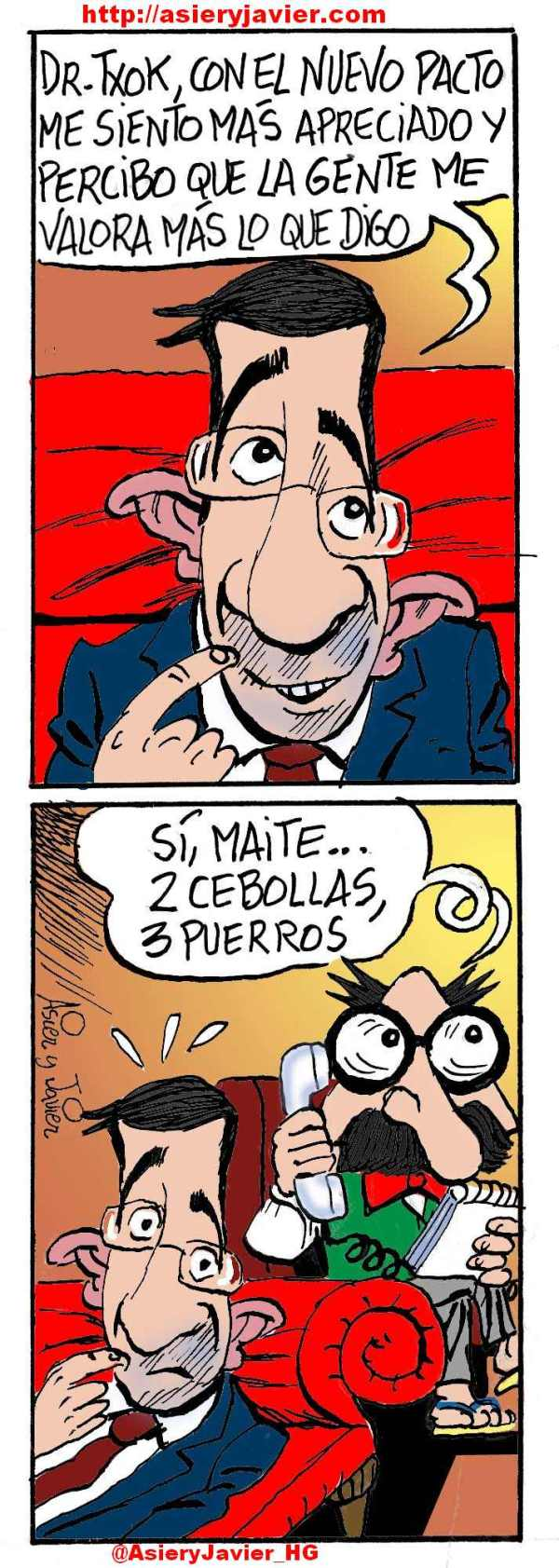 Patxi López vuelve a sentirse importante tras el pacto fiscal