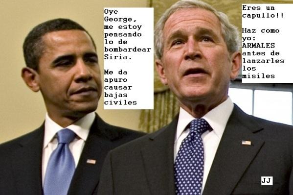 Siria, Obama y el temor a las bajas civiles
