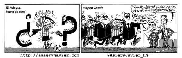 El Athletic a Getafe a terminar con las dudas