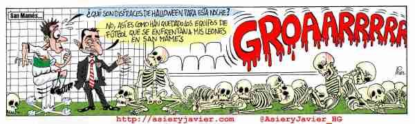 Partido Halloween esta noche en San Mamés ante el Elche. Athletic de Bilbao.
