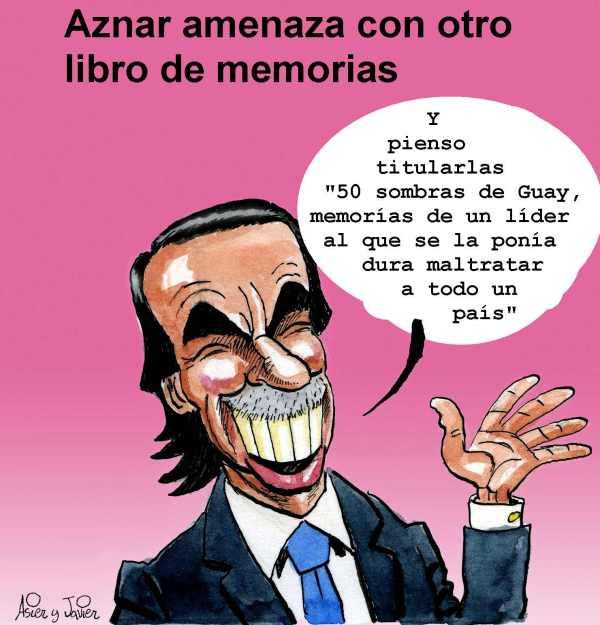 Aznar amenaza con un nuevo libro de memorias