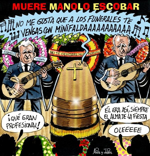 Antes que Lou Reed, se fue Manolo Escobar