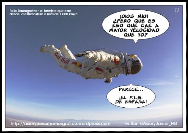 Se cumple un año del salto estratosférico de Felix Baumgartner