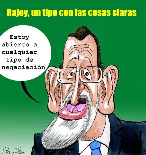 Rajoy es así, un tipo que habla claro