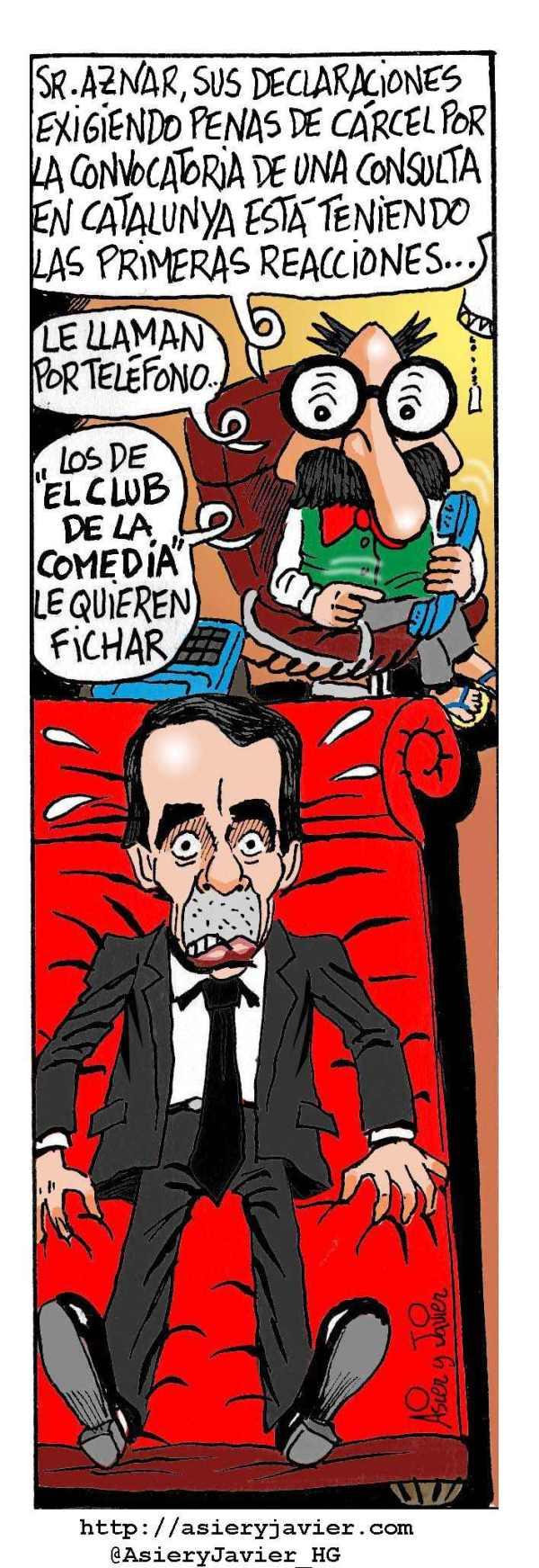 Aznar, en la consulta del doctor Txok