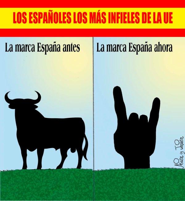 En El Jueves: los españoles, los más infieles de la UE