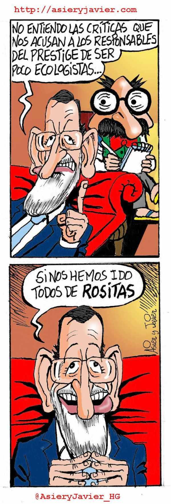 Rajoy visita al doctor Txok tras la sentencia del Prestige