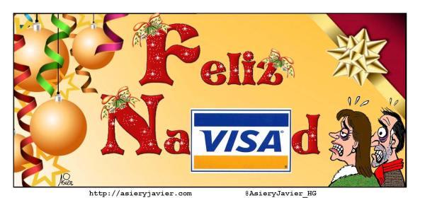 Feliz consumismo y próspera deuda nueva en Navidad