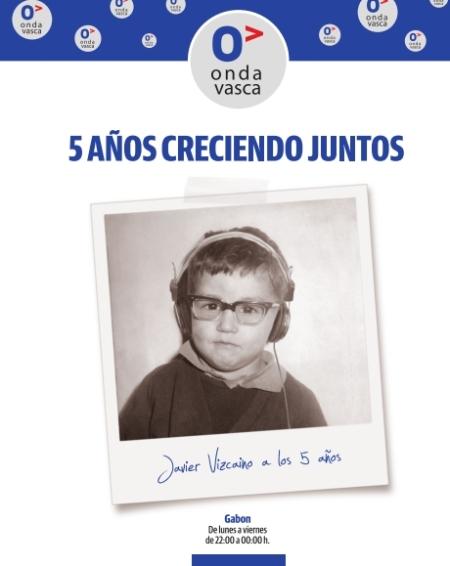 Javier Vizcaíno, referencia de los informativos vespertinos en Euskal Herria