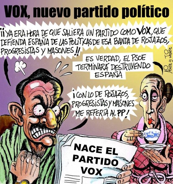 Nace VOX, nuevo partido político
