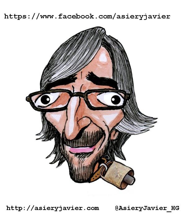 Iñaki Oyarzabal, Cencerro de la Semana. Humor gráfico, caricatura.