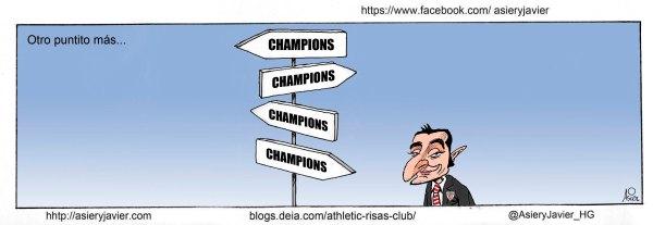 Todos los caminos del Athletic conducen a la Champions