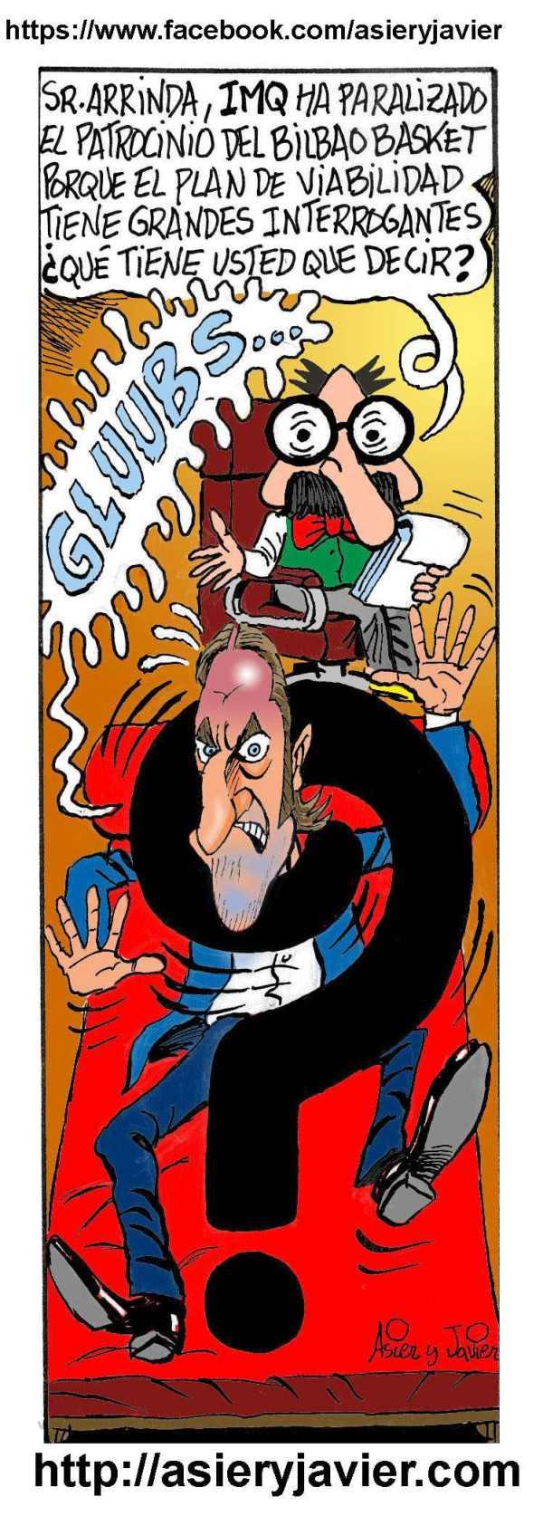 Las interrogantes empeizan a acosar a Gorka Arrinda por su gestión al frente de Bilbao Basket