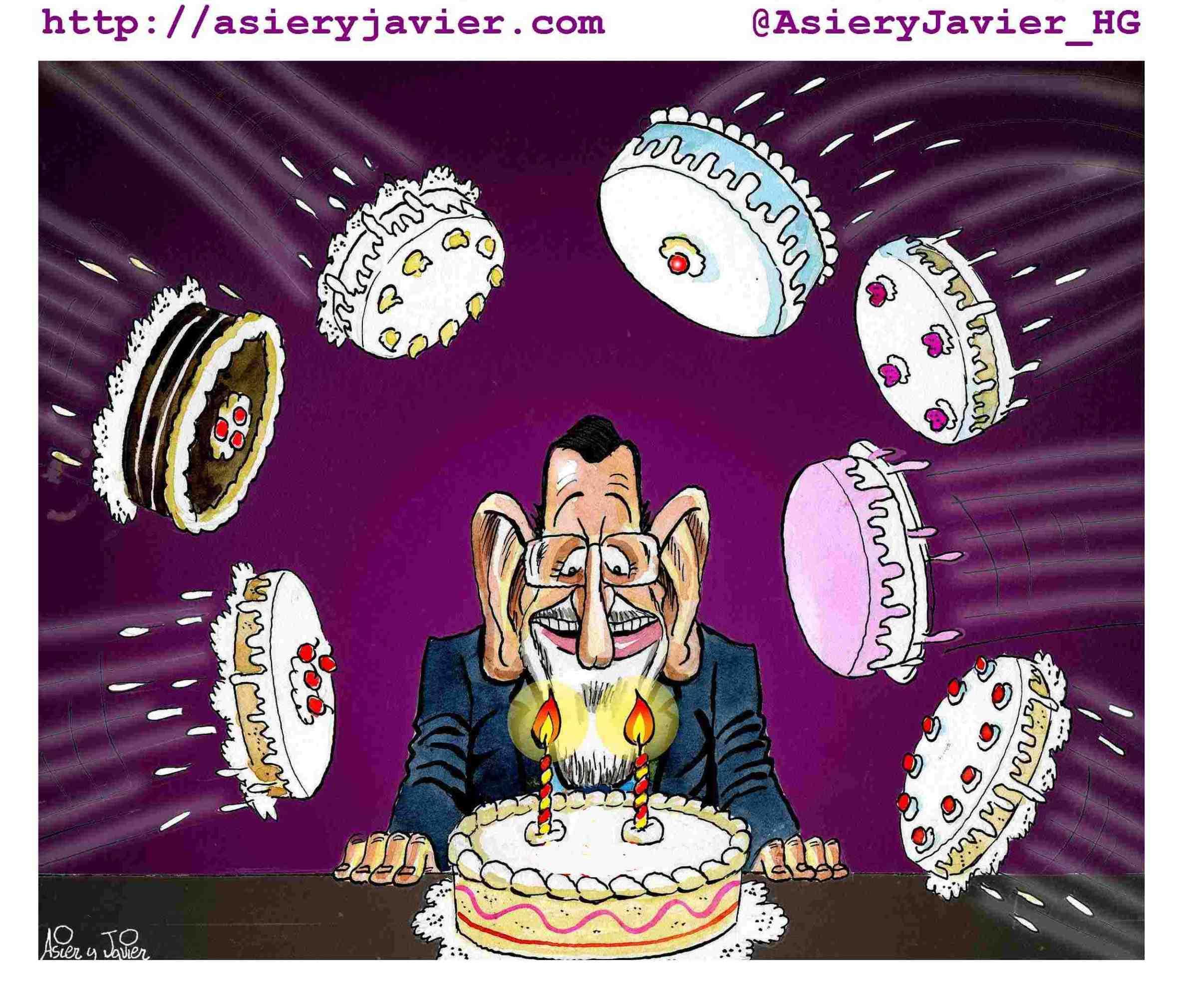 Hoy es el cumpleaños de Mariano Rajoy