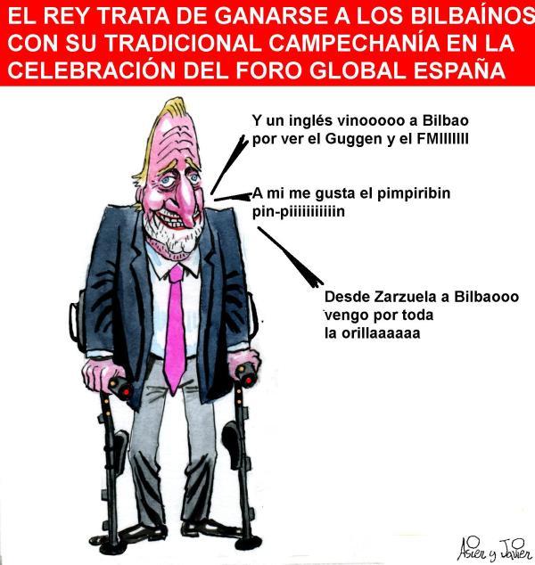 El rey, en Bilbao
