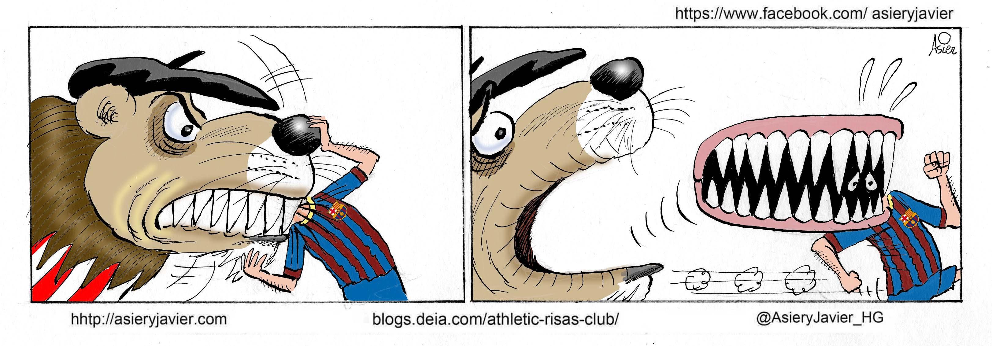 Un Barça en crisis se le escapó vivo y con 3 puntos al Athletic del Camp Nou