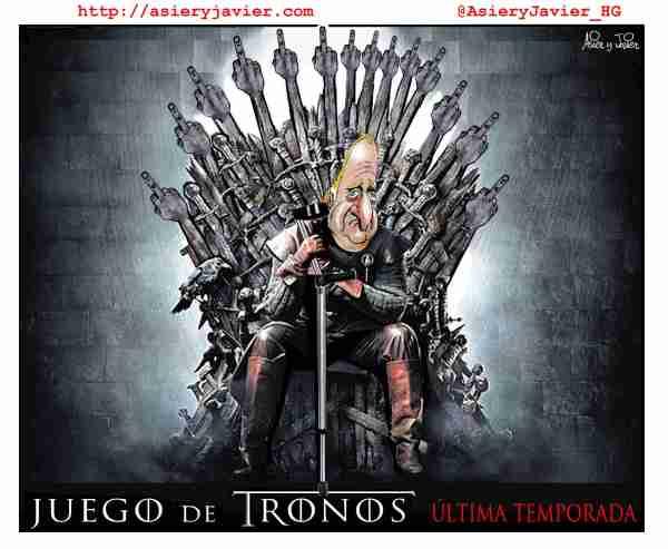 Llega la última temporada de Juego de Tronos... para el rey Juan Carlos
