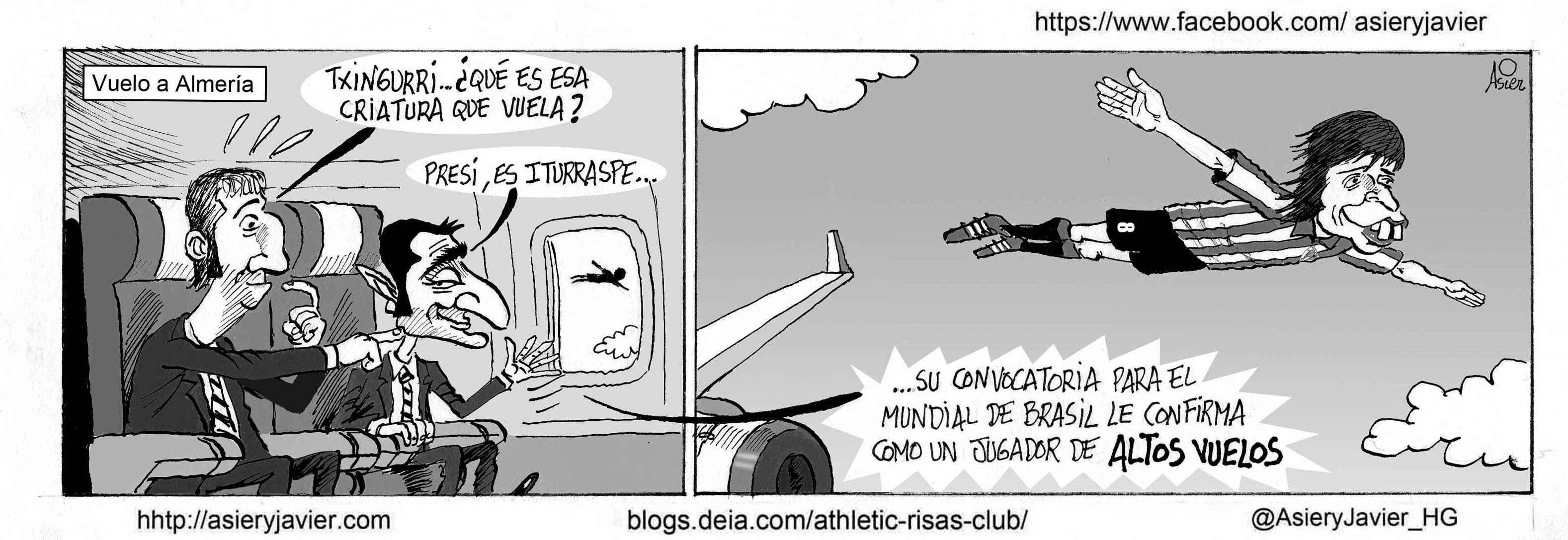 El Athletic viaja a Almeria con los deberes hechos y un Iturraspe mundialista