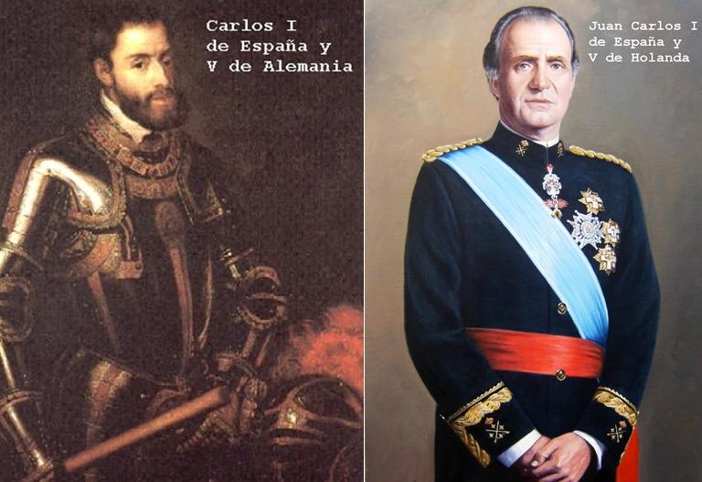 El mundial de Brasil y las dinastías reales españolas. Humor