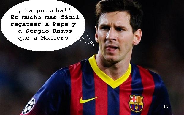 Tras sus anteriores problemas con Hacienda, encuentran ahora dinero negro en los partidos benéficos de Messi. Humor, Fútbol.