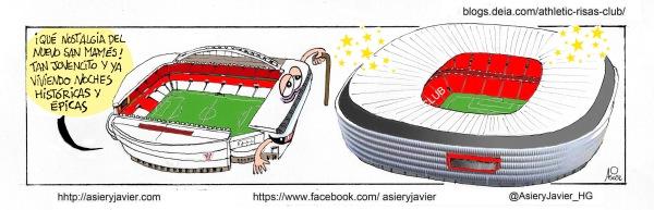 El nuevo San Mamés se inaugura metiendo al Athletic en el bombo de la Champions venciendo al Nápoles.