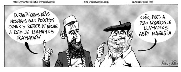 ¿Ramadán o Aste Nagusia? Badator Mari Jaia!!!