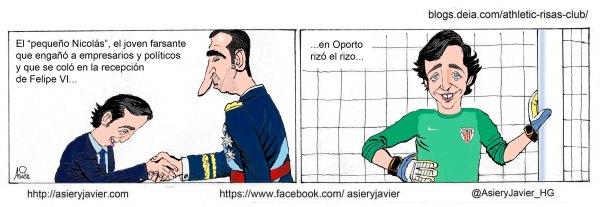 Un error de Iraizoz condenó al Athletic en Oporto